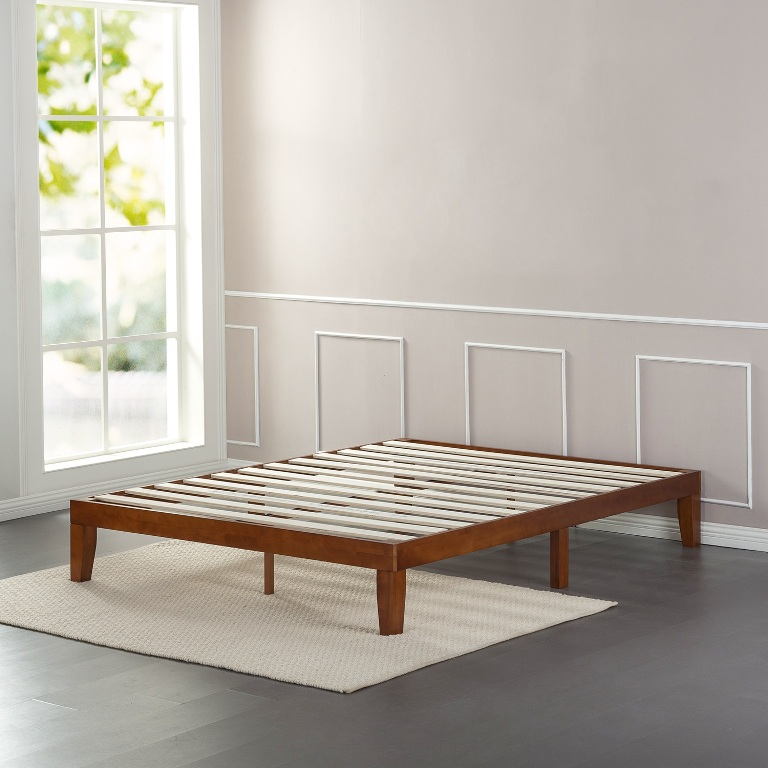 Image of: Arch Platform Bed Frame Queen