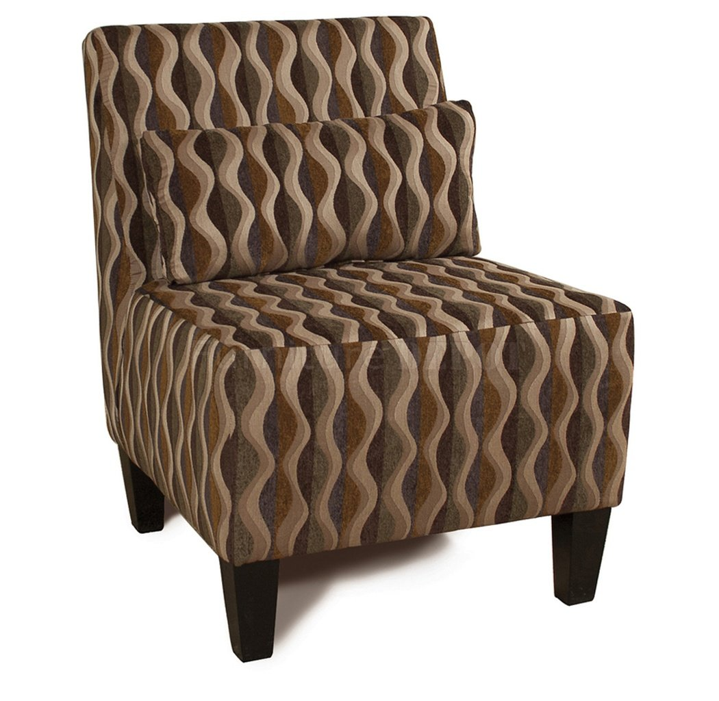 Image of: Armless Accent Chairs Design