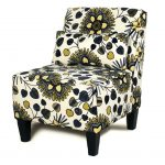 Armless Accent Chairs Floral