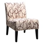 Armless Accent Chairs Lounge