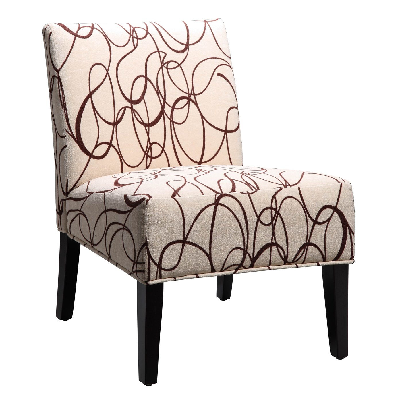 Image of: Armless Accent Chairs Lounge