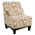 Astounding Armless Accent Chair