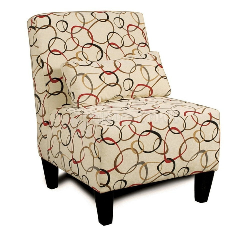 Image of: Astounding Armless Accent Chair