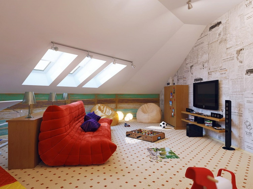 Image of: Attic Bedroom Ideas Pictures