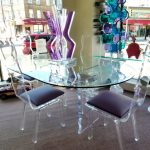 Awesoe Lucite Dining Chairs