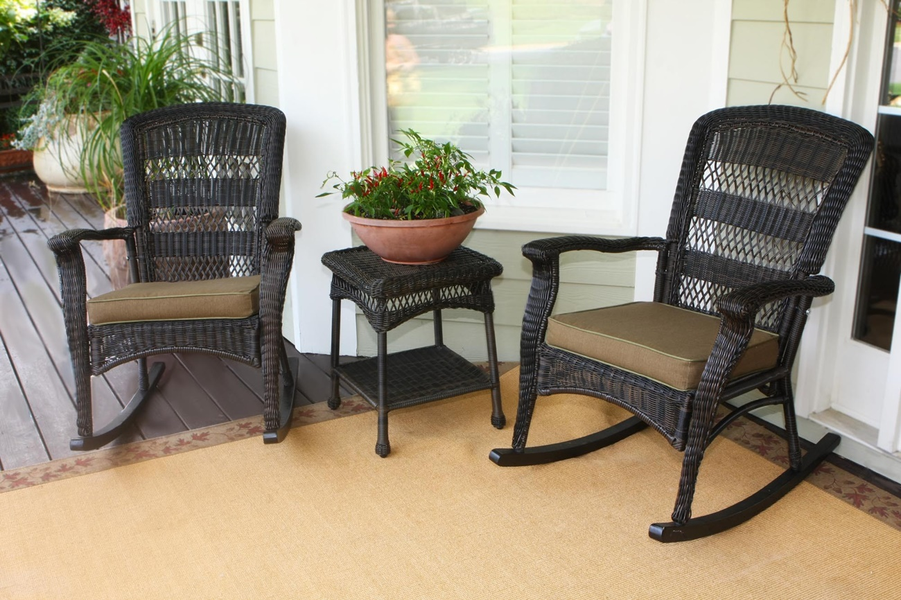 Image of: Awesome Patio Rocking Chair
