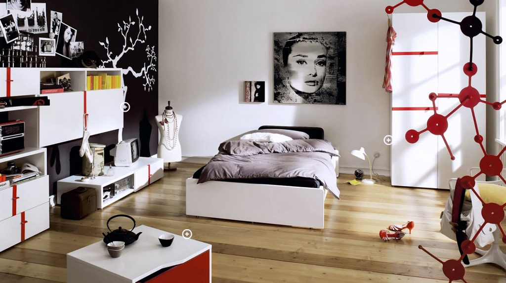 Image of: Awesome Teenage Girl Bedroom Ideas