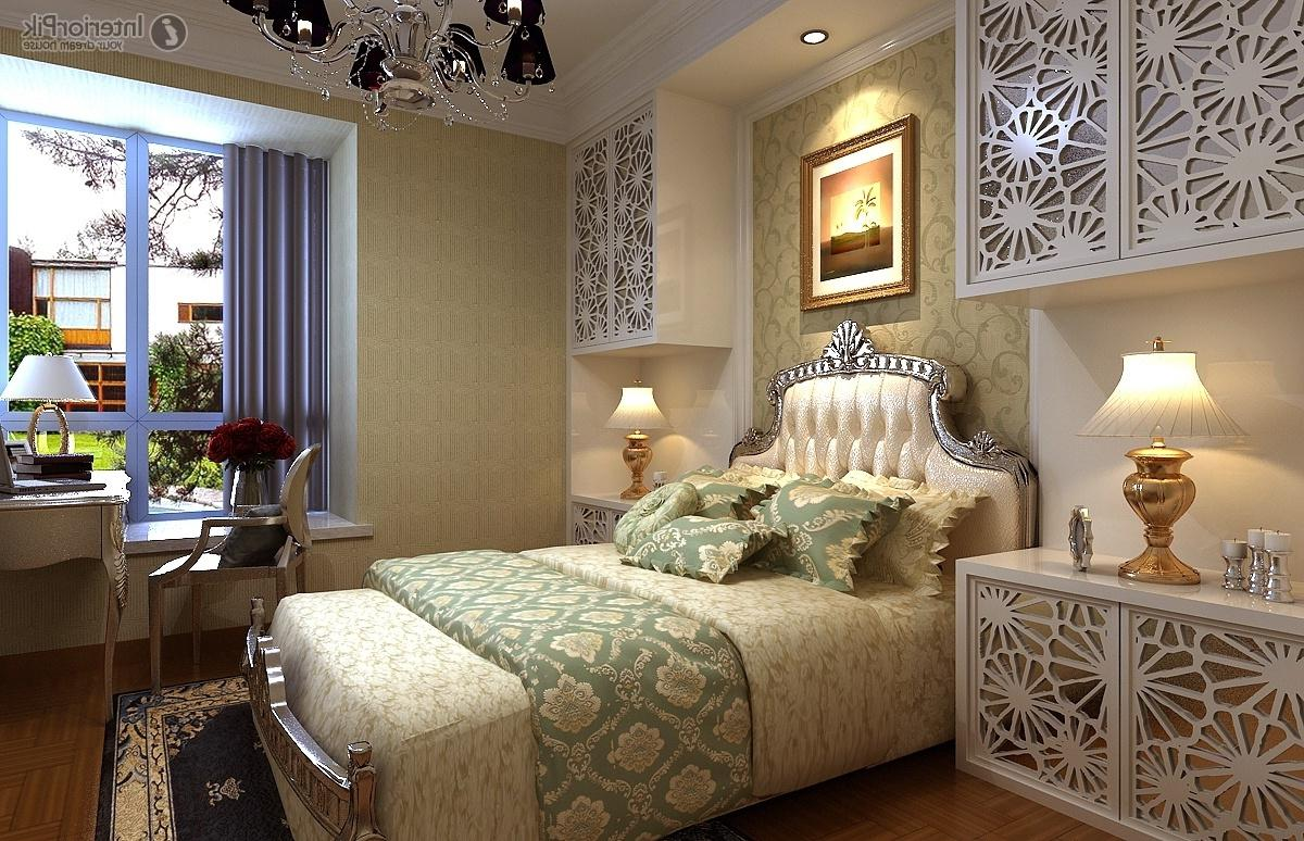 Image of: Beautiful Romantic Master Bedroom Color Ideas