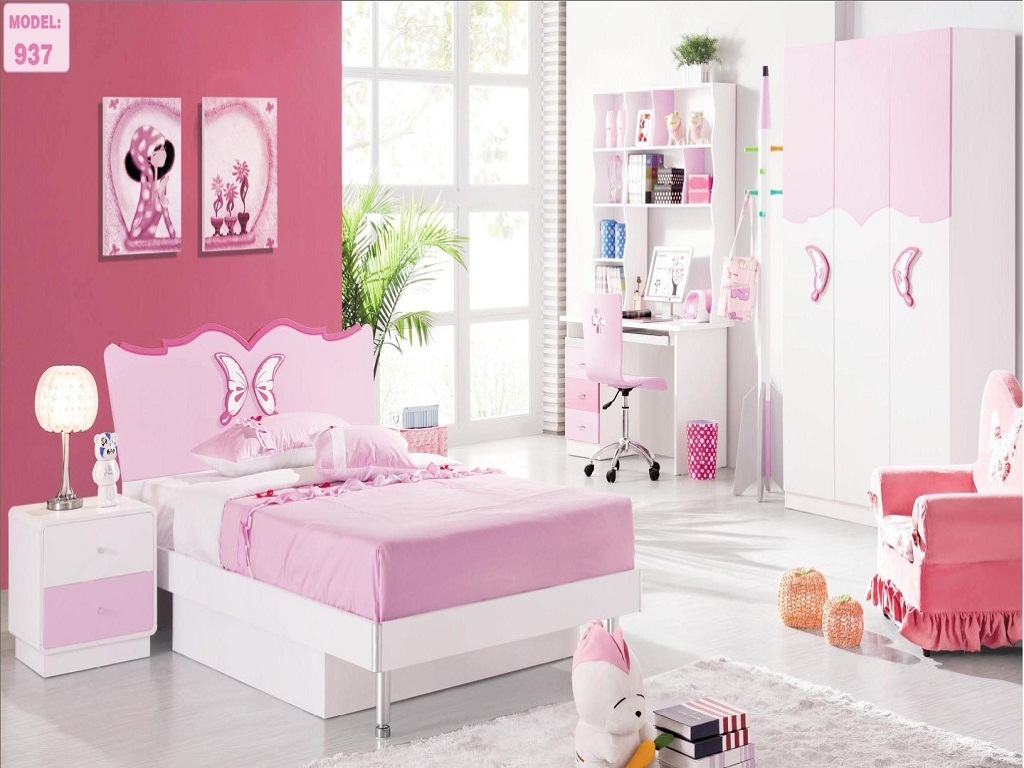 Image of: Beauty Toddler Girl Bedroom Sets