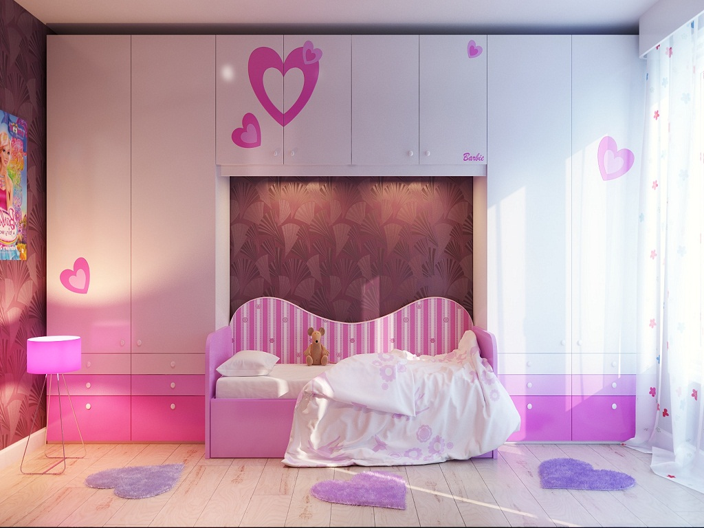 Image of: Bedroom Designs For Teenage Girls Photos