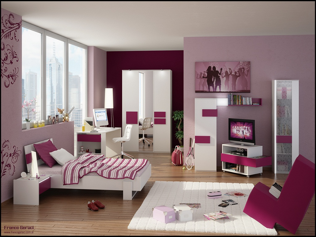 Image of: Bedroom Designs For a Teenage Girl