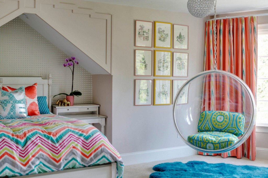 Image of: Bedroom Feature Wall Ideas For Teenage Girl