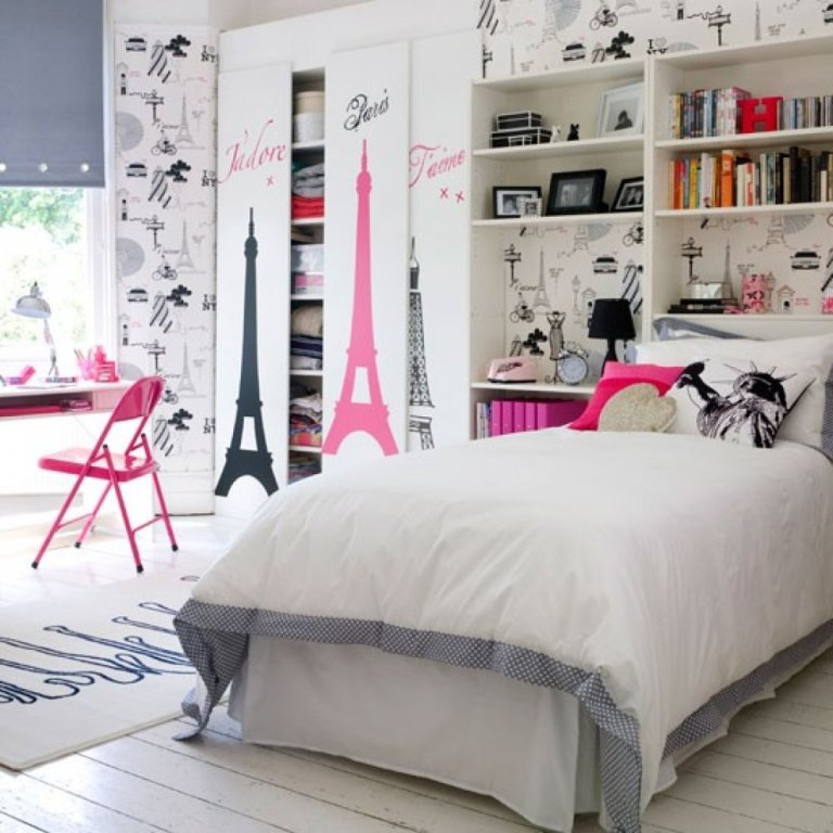 Image of: Bedroom Themes For A Teenage Girl
