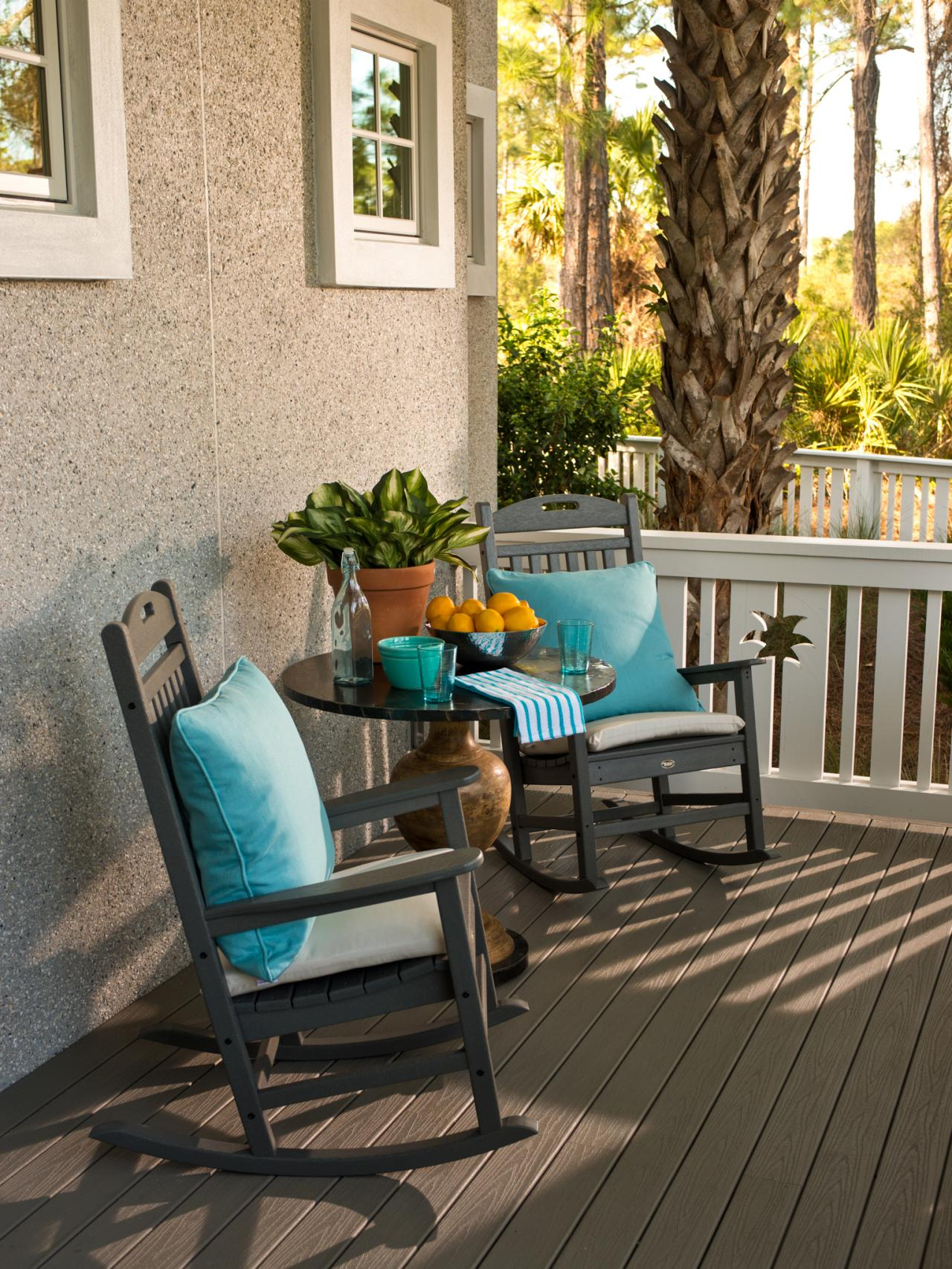 Image of: Best Front Porch Rocking Chairs