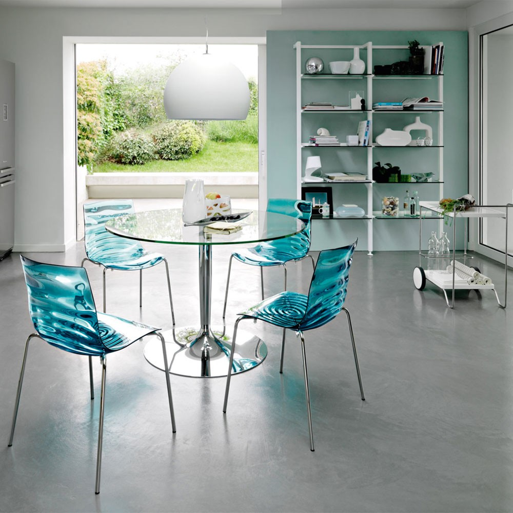 Image of: Best Lucite Dining Chairs