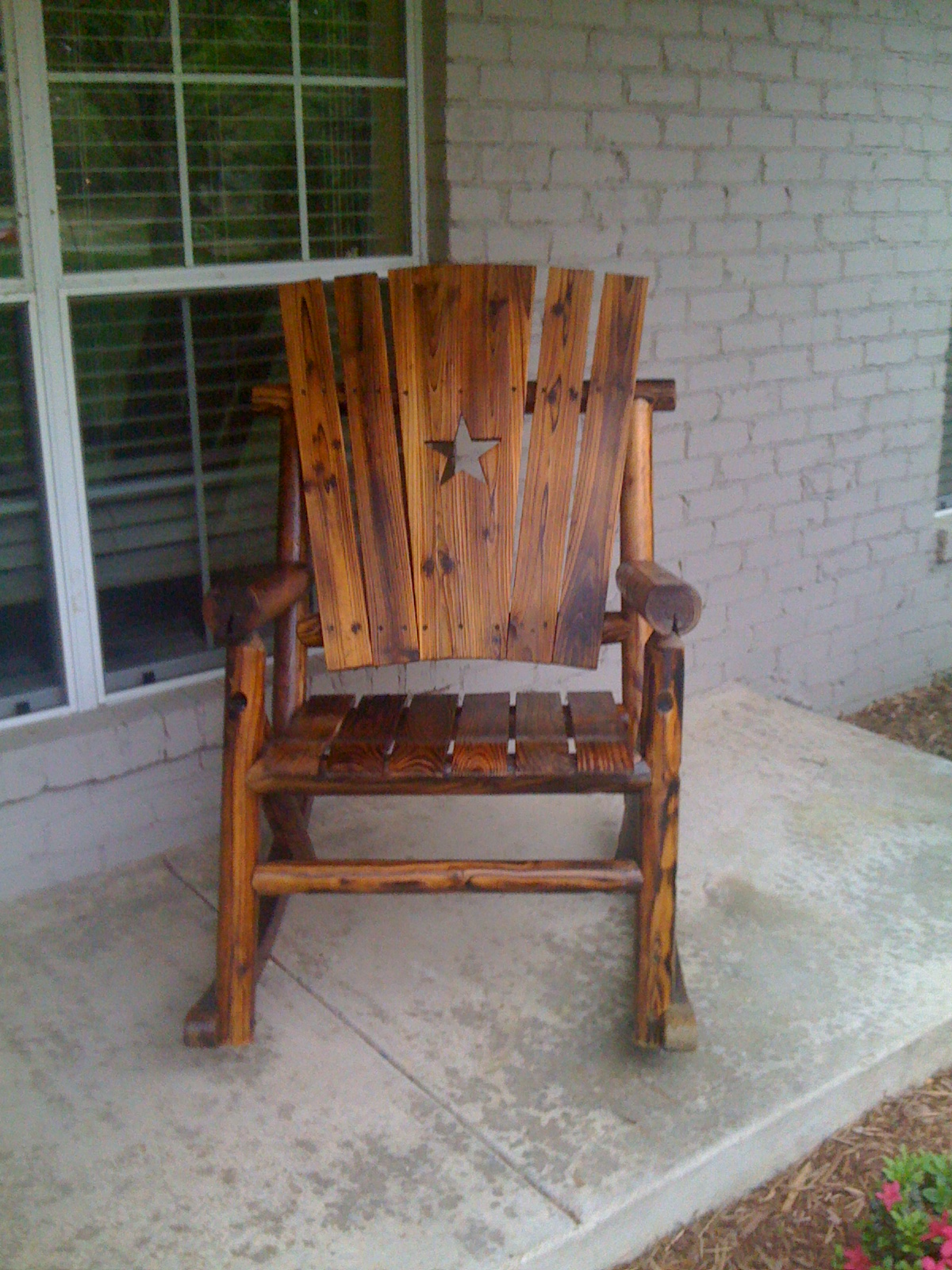 Image of: Best Rustic Rocking Chairs