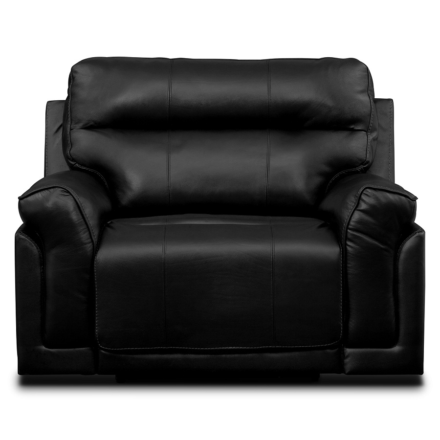 Image of: Black Oversized Recliner Chair