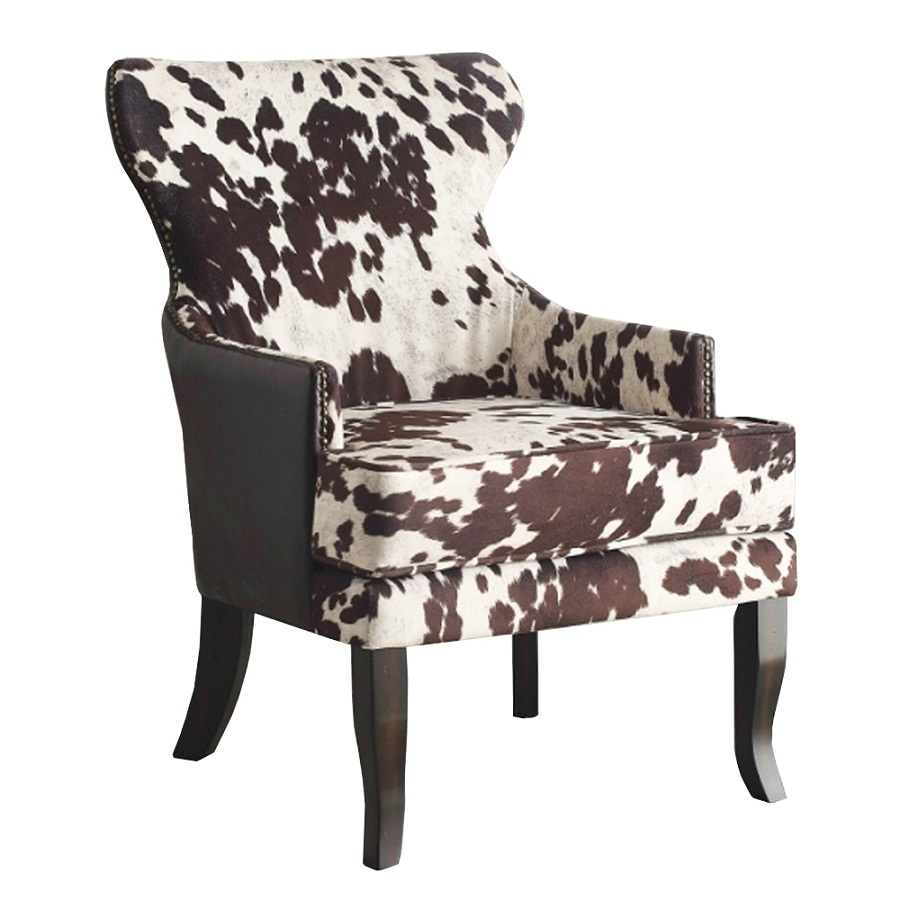 Image of: Brown Accent Chairs with Arms