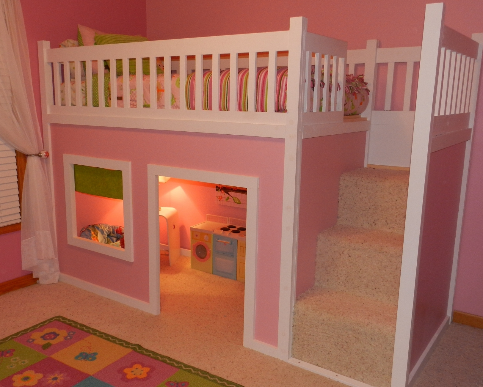 Image of: Bunk Beds for Toddler Mattresses