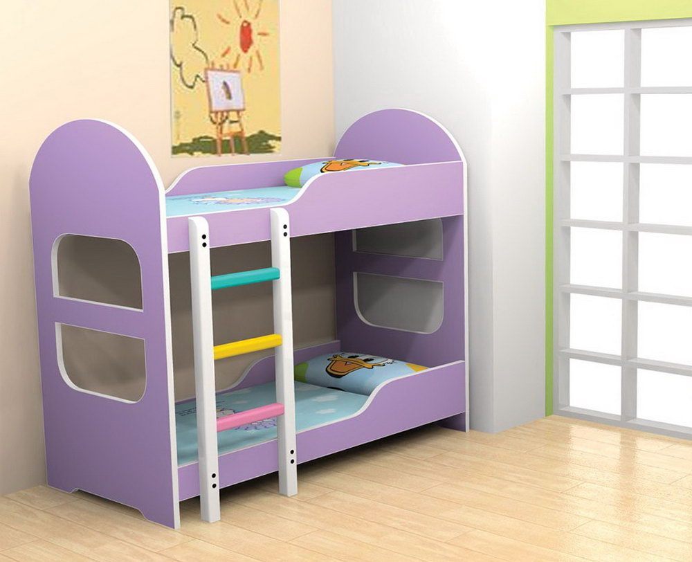 Image of: Bunk Beds For Toddlers With Slides