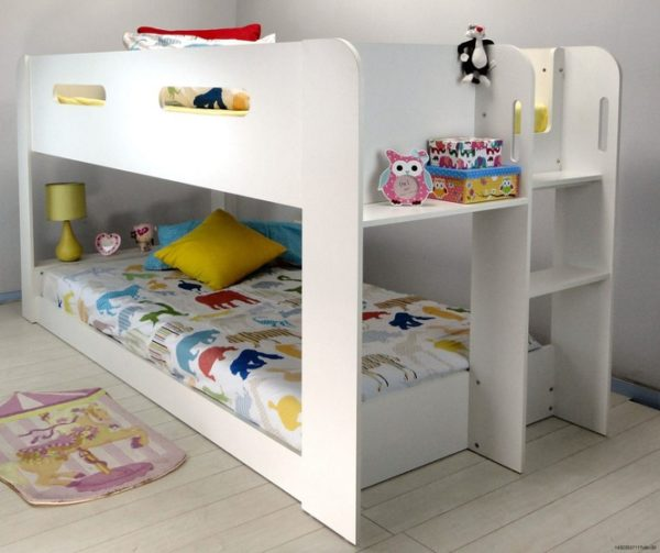 Image of: Bunk Beds For Toddlers With Storage