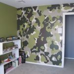 Camouflage Bedroom Painting Ideas