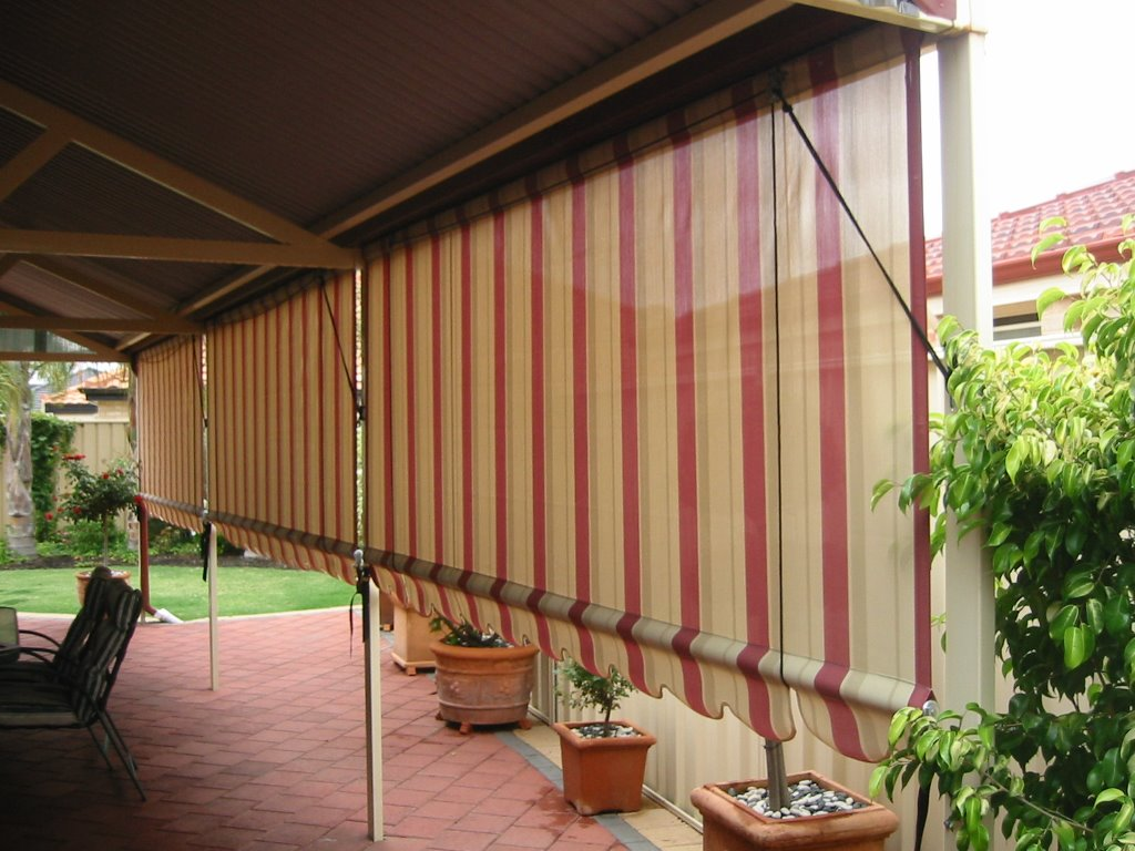 Canvas Outdoor Blinds