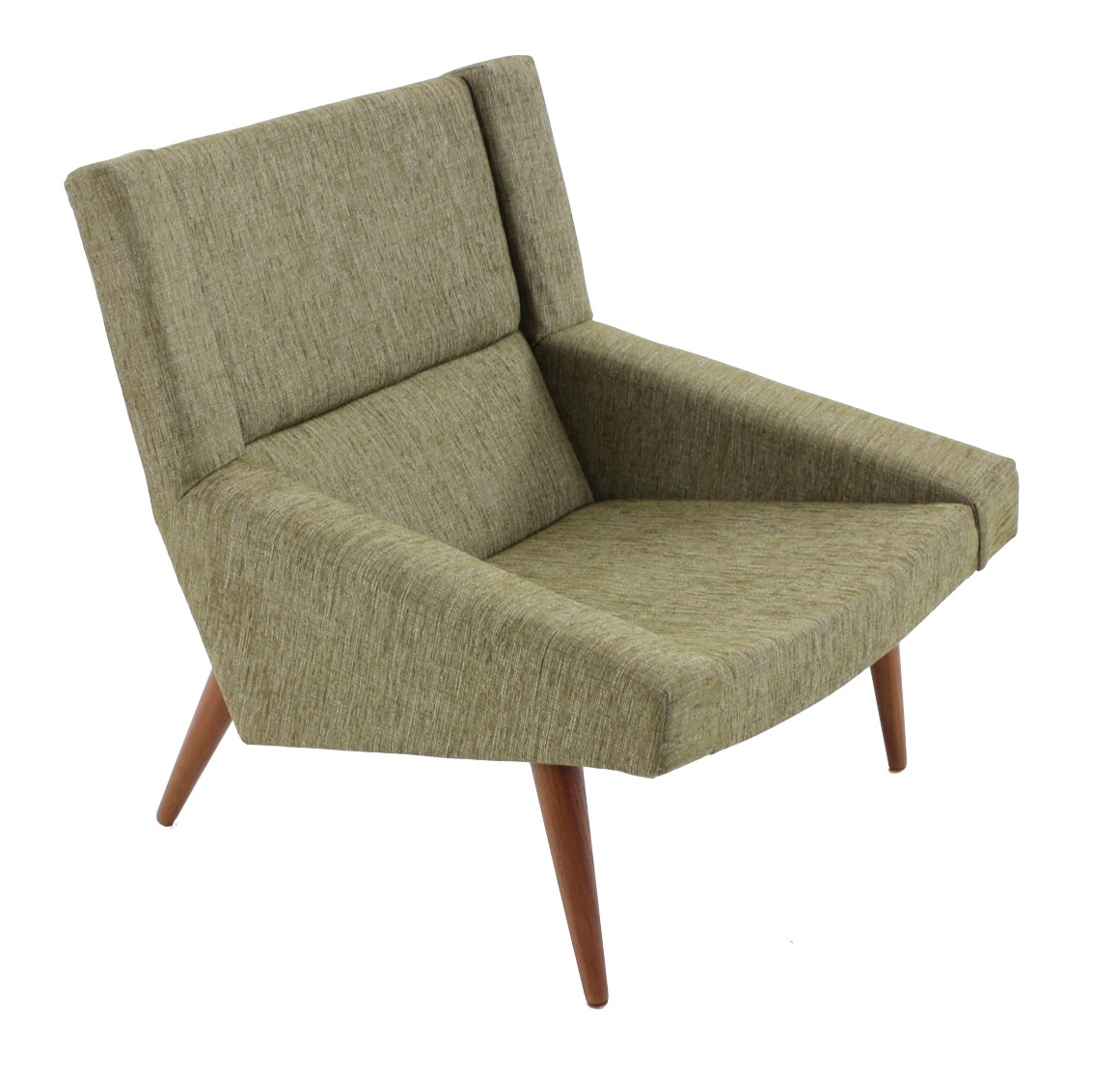 Image of: Classic Danish Lounge Chair