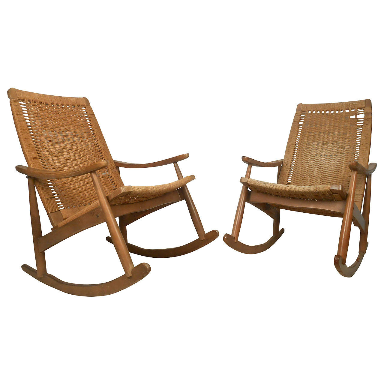 Image of: Classic Mid Century Modern Rocking Chair