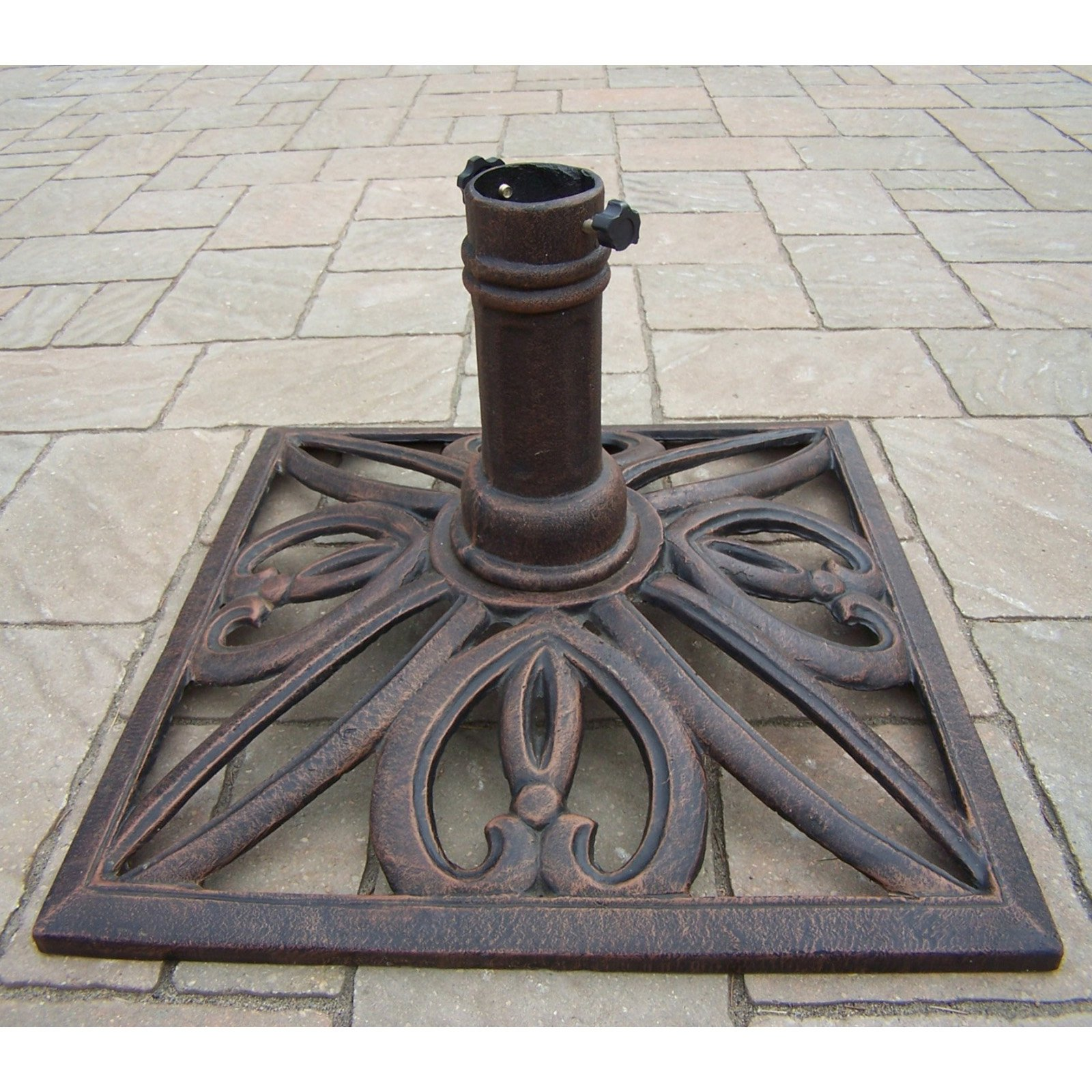 Image of: Classic Patio Umbrella Stand