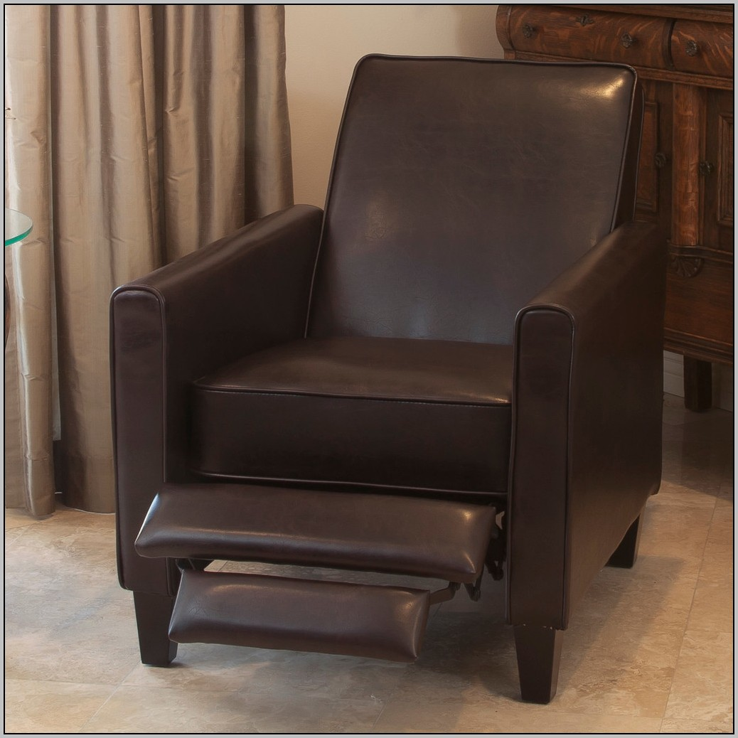 Image of: Club Chair Recliner Model