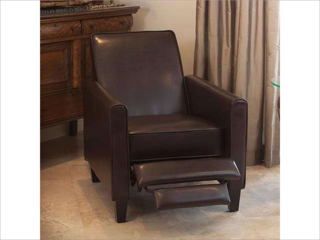 Image of: Club Chair Recliner Photo
