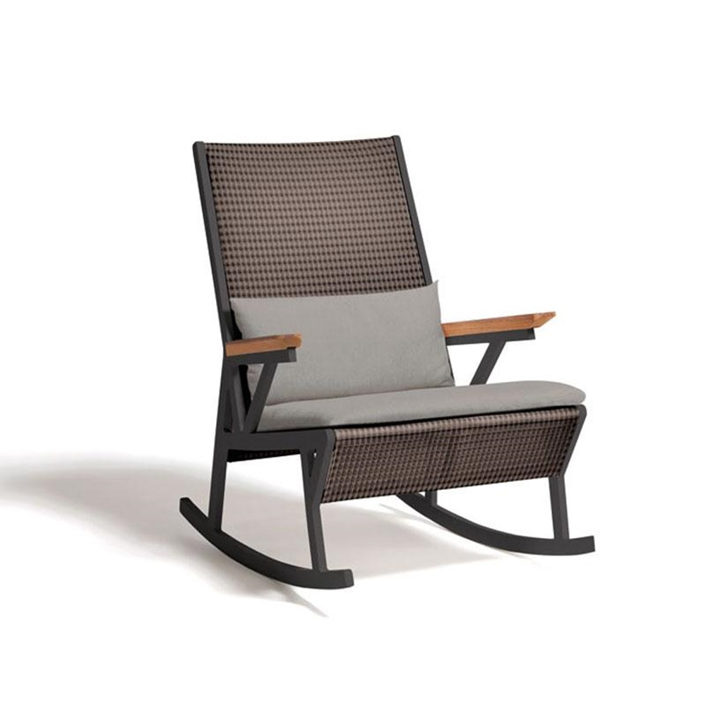 Image of: Comfortable Patio Rocking Chair