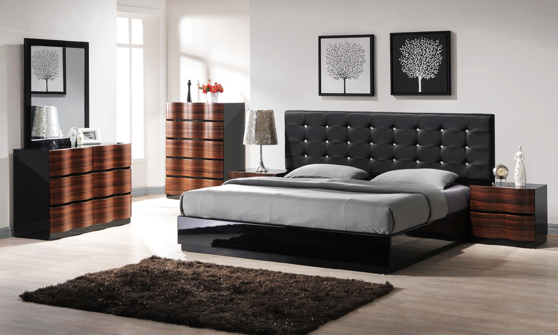 Image of: Contemporary Bedroom Furniture Images