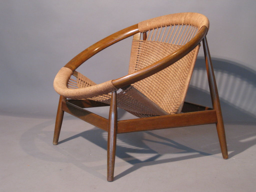 Image of: Contemporary Danish Lounge Chair
