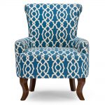 Contemporary Navy Blue Accent Chair