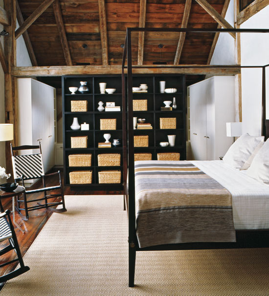 Image of: The Contemporary Rustic Bedroom Ideas