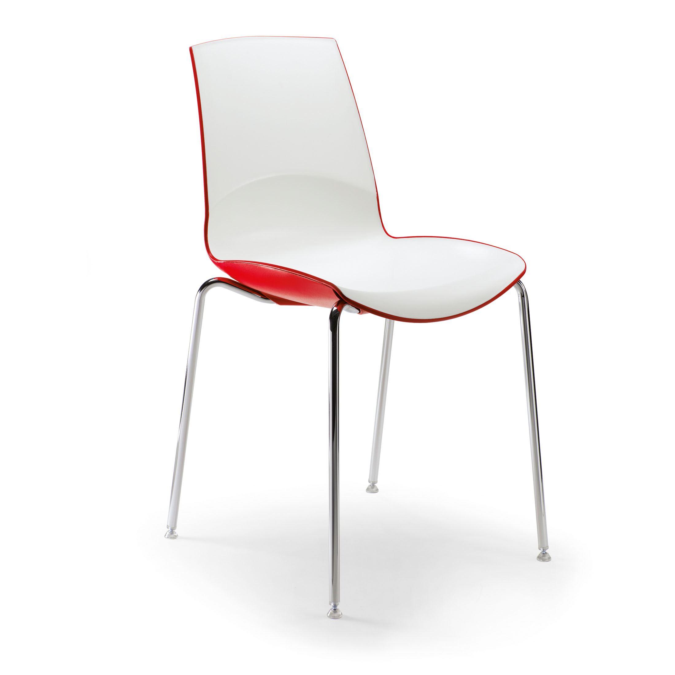 Image of: Contemporary Stackable Dining Chairs