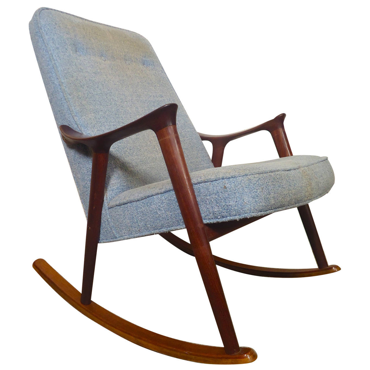 Image of: Cool Mid Century Modern Rocking Chair