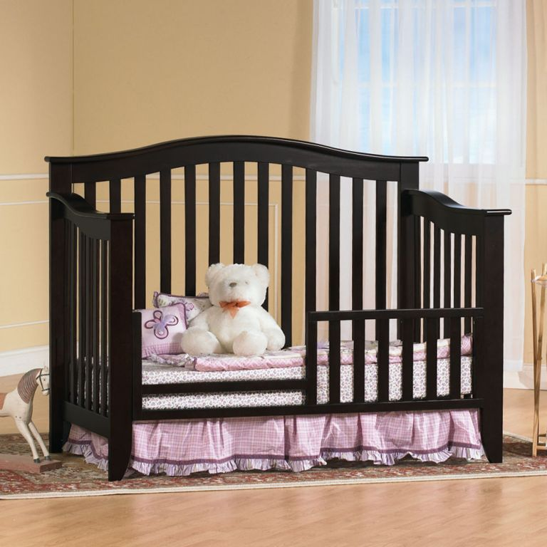 Image of: Cribs That Convert To Full Beds