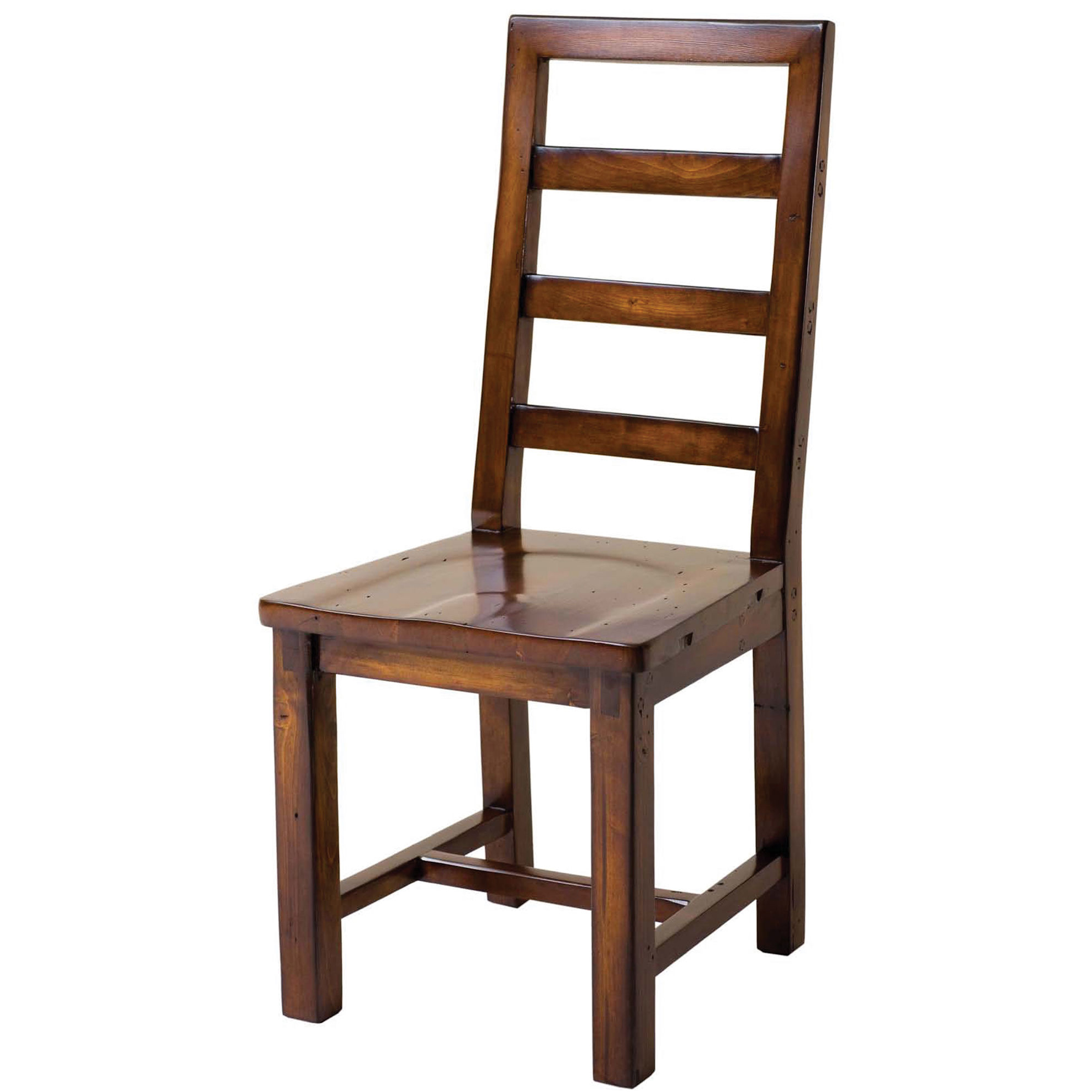 Image of: Custom Unfinished Wood Dining Chairs