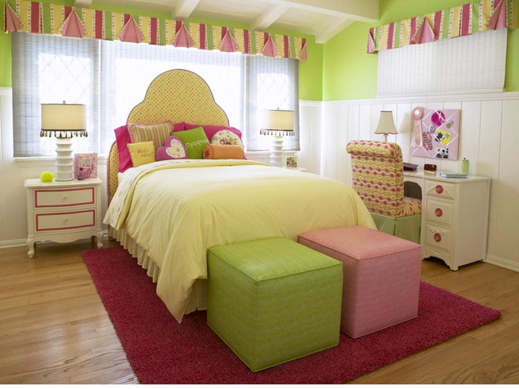 Image of: Cute And Cool Teenage Girl Bedroom Decor Ideas