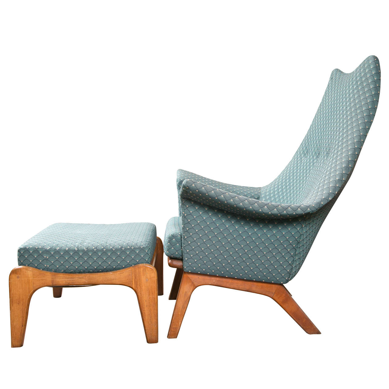 Image of: Danish Lounge Chair Picture