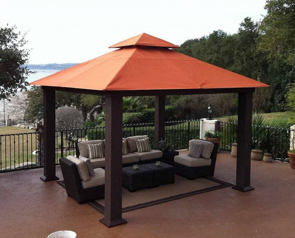 Image of: Deck Outdoor Canopy Tent