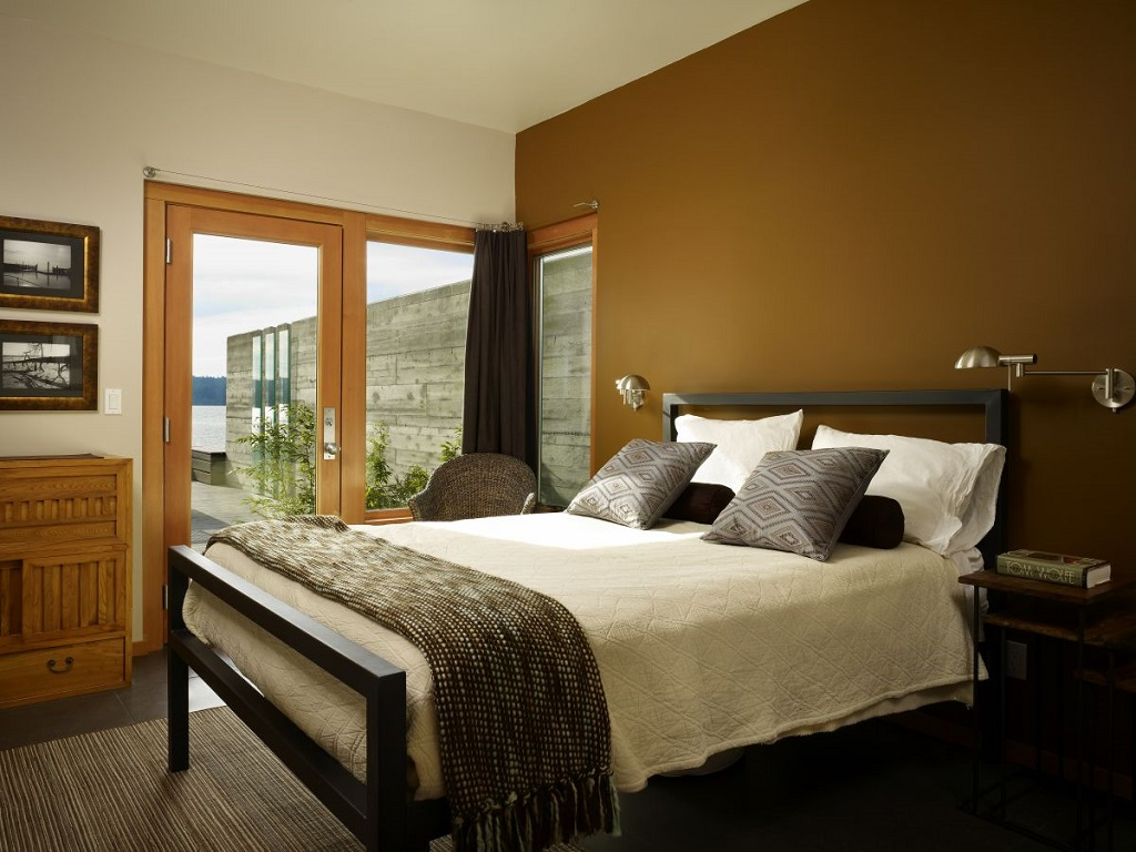 Image of: Decorating Ideas For Bedrooms Green Walls