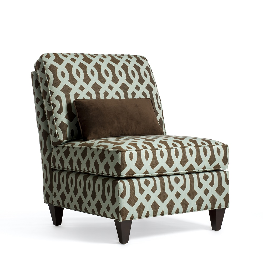 Image of: Decoration Armless Accent Chair