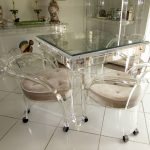 Decoration Lucite Dining Chairs