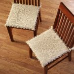 Excellent Dining Chair Cushions with Ties Ideas
