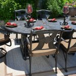 Dining Patio Swivel Chairs