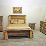 Distressed White Pine Bedroom Furniture